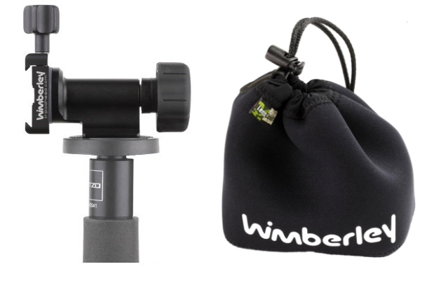 Wimberley MonoGimbal Head MH-100 with PO-130 Pouch